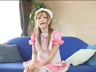 Hawt Pink Maid Teen Shaving Joy