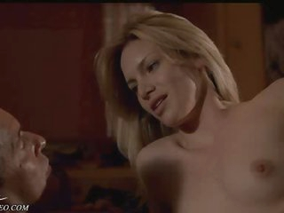 Perfect Blonde Playgirl Heidi Schanz Shows It All in a Bonerific Sex Gig