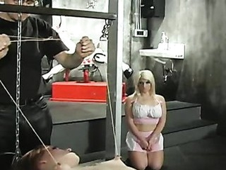 Rick Brute beats her sexy confidential red