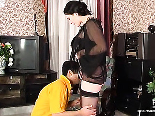 Gwendolen&Sebastian hawt nylon video