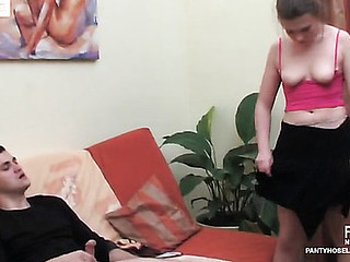 Alana&Silvester wicked pantyhose activity