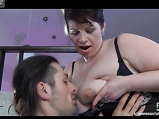 Caroline M&Gerhard horny mama in action