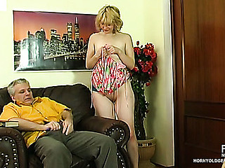 Inessa&Caspar cutie and oldman movie