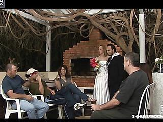 alessandra&matheus shemale wedding sex