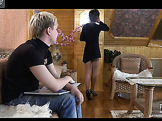 Paul&Maurice perverted gay crossdresser clip