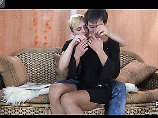 Paul&Maurice kinky gay crossdresser clip