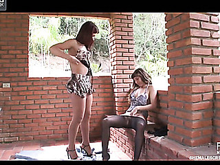 Paola&Patricia cute transsexual on episode