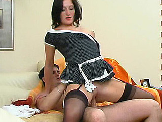 Gwendolen&Adam red hawt nylon action