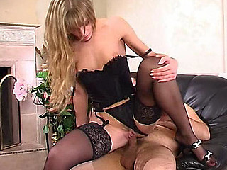 Diana&Lesley red hawt nylon action