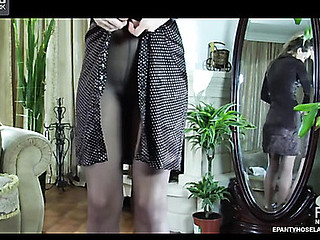 Irene here pantyhose motion picture