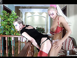 Christiana&Silvester ding-dong sissysex movie scene