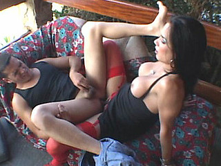 Calena kinky ladyboy on movie scene