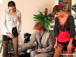 Alice&Irene&Judith lezzy mass pantyhosing movie scene