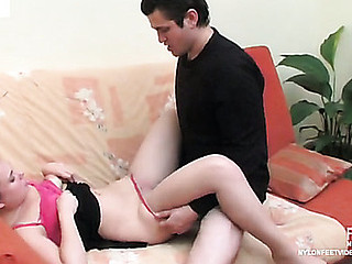 Alana&Silvester stunning nylon feet sham