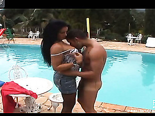 Aline transsexual fucking guy on clip