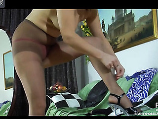 Megan videotaped during the time that wearing hose