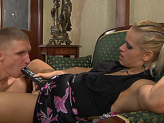 Susanna&Connor strapon sex movie