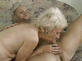 Slim Old Granny Getting It On