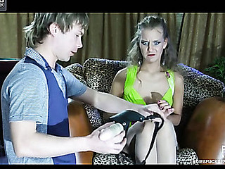 Barbara&Silvester nasty dong action