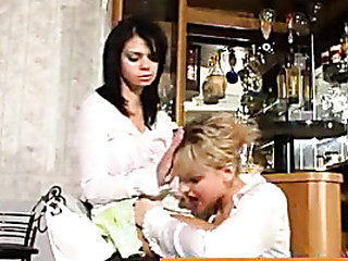 Gertie&Amelia belt up fuck scene