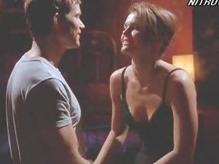 Sensual Brunette Dina Meyer Looking Hawt In a Hawt Sex Scene