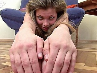 The flexible legal age teenager angel