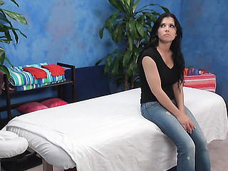 Dark Brown playgirl next door from this action looks stunning in garment and u should witness her out of anything on body to fall in love immediately! Watch how gracious guy has fun with her on camera.