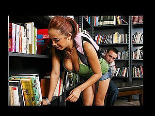 Mulani desperately needs a book for school but Keiran has already closed  up the library. This Babe implores him to let her in for a quick look, noticing that this hottie is smokin' sexy and has a worthwhile rack this fellow assents to let her in. This Babe finds the book this hottie needs but as that hottie attempts to pay for it that hottie realizes that this hottie has forgotten her wallet at her boyfriends abode. This Babe needs the book or that hottie will fail her class. This Babe makes a decision this hottie can fuck her way out of this problem and sure sufficiently... it works!