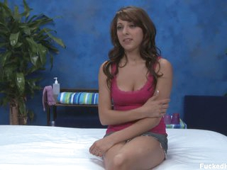 Lexi Realize the potential of gets interviewed before massage