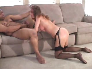 Housewife everywhere stockings becomes gangbang wench