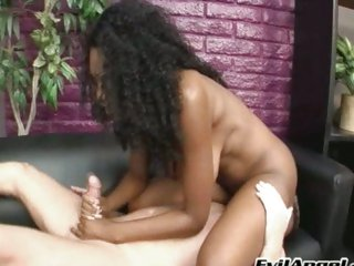 A rough enforce a do without job from Nyomi Banxxx leads to a massive squirt be useful to sperm