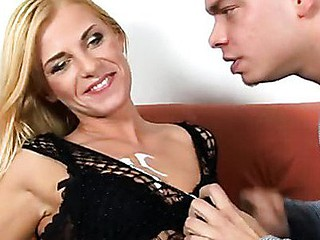 Golden-Haired anilos siren janet gets rammed from behind off out of one's mind a thick schlong