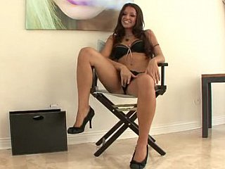 AnnMarie Rios spreading, engulfing & swallowing
