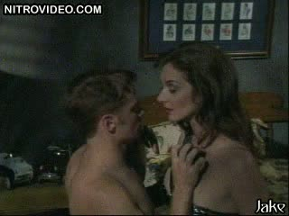 Susannah Devereux In a Leather Outfit Has Some S&m Fun With a Guy