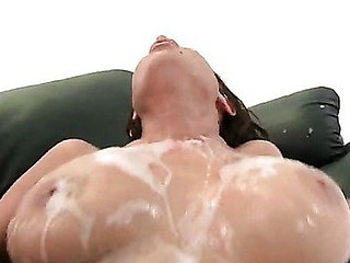 Soaked White Cum