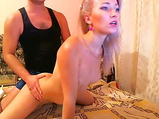 You just have to give it to amateur Euro web camera babes, they are just flawless cyber sex mates! One such webcam sweetheart is on this oozed clip! Check out as sweltering hot Scandinavian chick with blodne hair, tiny tits and long legs as that babe lets this guy bang all her holes, form her mouth, to her pussy as well as her ass!