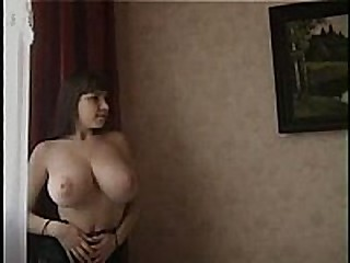 U gotta see this super sexy chick with stunning large tits plus a tapering ass made for fucking nearly this brigandage video. She strips off her lingerie solitary to expose her glamorous body plus wet pussy.