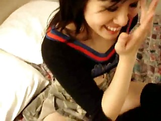 in a word asian girl forth expansive white dick