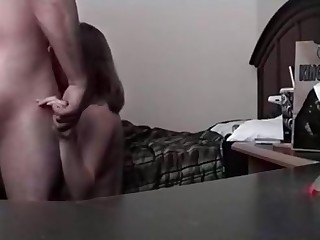 Blowage after doggy style hook-up video