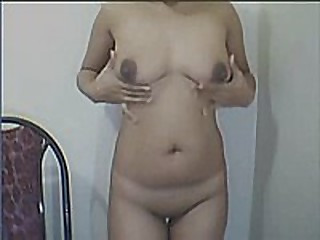 Filipina Camgirl Yolanda Strips In the sky Cam