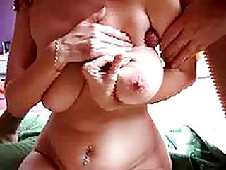 Horny amateur couple live out their fetish in homemade couples sex vids. He fucks her arm pit as if it were a wet tight pussy until this chab shoots her with a load of cum.