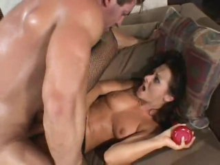 Cum shot compilation includes DP sex