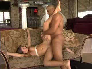 A little donk shaking and interracial sex