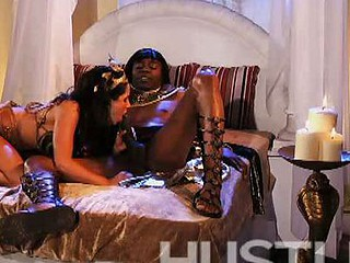 Missy Maze Sucks Black King Doom Huge Cock
