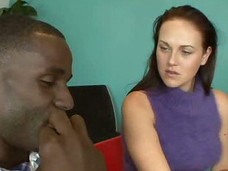 Josi Valentine and Her Hubby Take Turns Sucking Black Dick