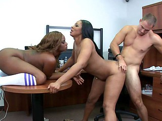Head over heels in love with & Caramel Asses w Tori Taylor & Carmela Mulatto