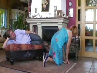 Horrific Cleaning Lady Needs A Thick Cock In Her Starved Pussy