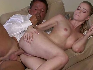 Horny sky pilot uses sons girlfriend