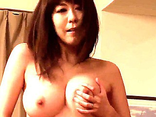 Ravishing asian Akari Minamino enjoys hardcore solo vilification that makes her cum