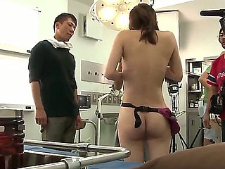 Hardcore scene yon well done sexy Japanese misfire Rin Sakuragi no laughing matter around